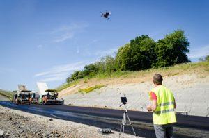 suivi de chantier, prise de vue aérienne par drone à melun 77. Drone by LUKAS.