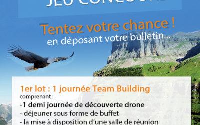 Annonce gagnants du jeu-concours «Drone Paris Region Expo» 2018