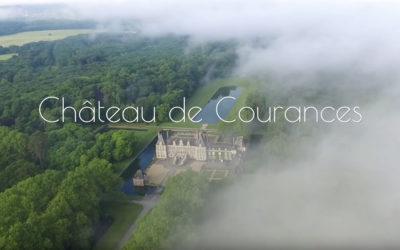 Promotion de la visite de jardin du château de Courances