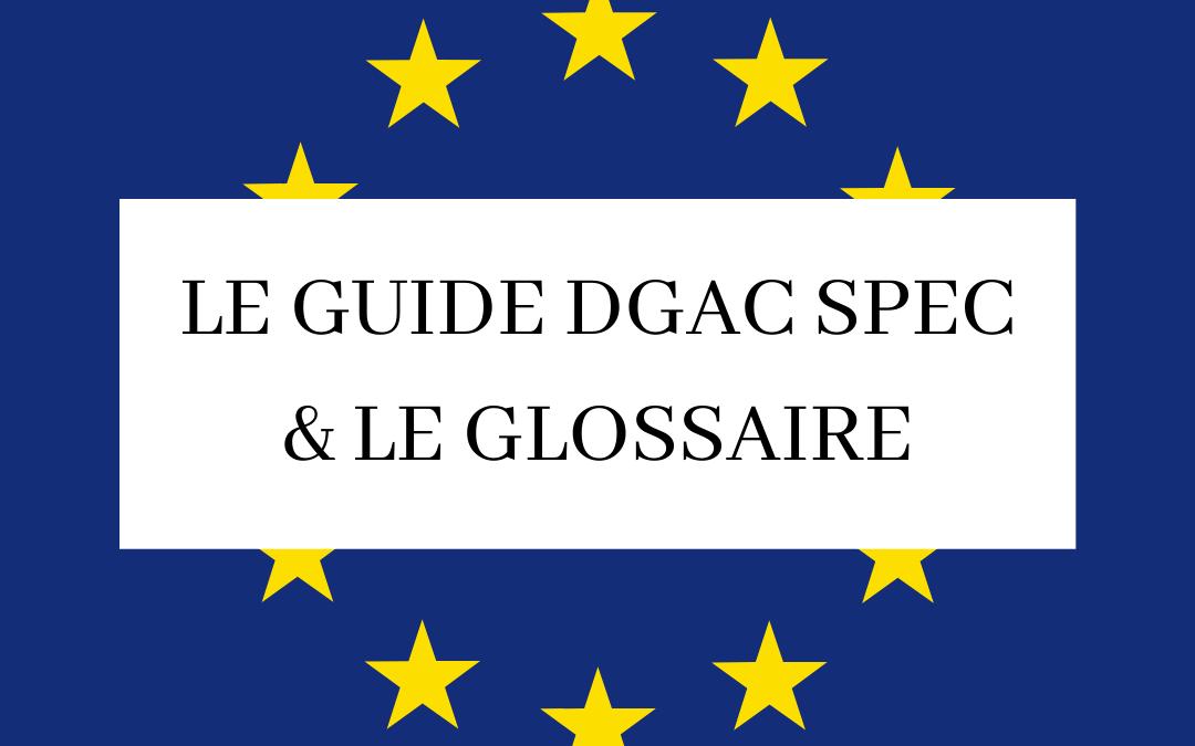 Le Guide DGAC SPEC & GLOSSAIRE