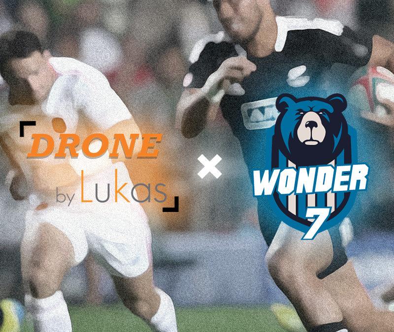 Drone By Lukas devient mécène du club de rugby Wonder 7